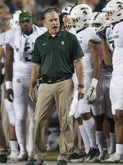Mark Dantonio is a couple of touchdowns and two-point conversions, cumulatively, from owning a perfect record against one of the towering names in college coaching, Urban Meyer.