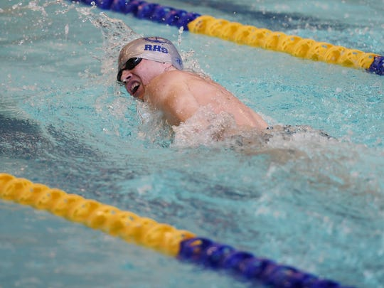 NJIC championship meet for boys and girls swimming