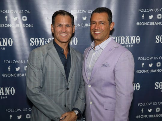 Alex Duran, right, co-owner of Son Cubano.