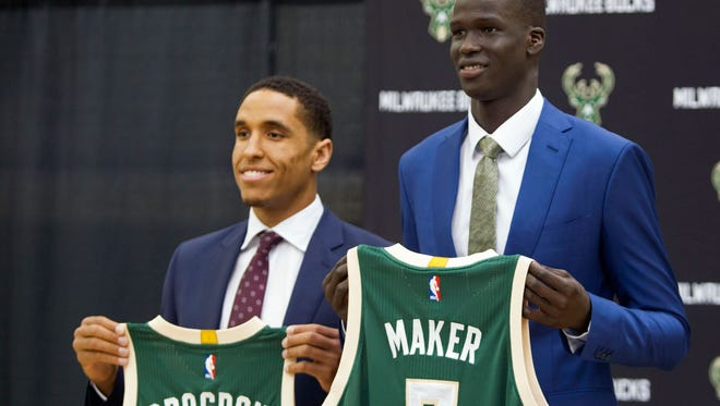 Thon Maker, the 10th overall pick, is expected to make around $2.6 million. Malcolm Brogdon's salary was not initially disclosed.