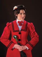 "Elizabeth Broadhurst plays Mary Poppins in the Utah Shakespeare Festival's 2016 production of ""Mary Poppins."""