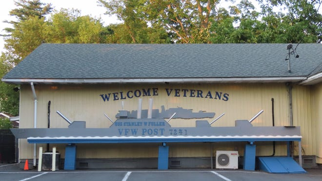 The wooden replica of a Navy warship at the Tri-State Naval Ship VFW Post 7241 in Port Jervis has had some sprucing up by its members.