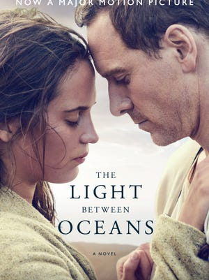 'The Light Between Oceans' movie tie-in jacket.
