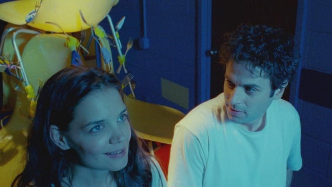 """Katie Holmes and Luke Kirby star in """"Touched with Fire."""""""