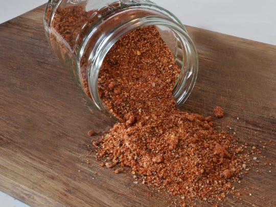 Dry rub for BBQ ribs