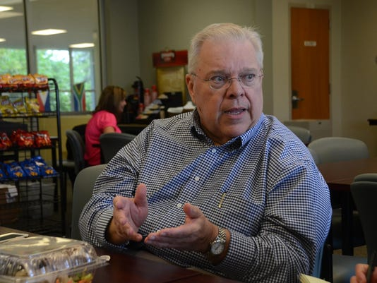 ANI Business of Philanthropy Louis Mancuso, the Scott O'Brien/Cleco Endowed Chair in Entrepreneurship at LSUA, discusses the seminars being held at LSUA about business principles for nonprofits. The three-day workshop ends Friday. Wednesday, June 3, 2015.-