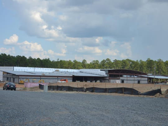 The new $21 million, 98,000-square foot building for South Polk Elementary is expected to be completed in August 2016. It will take the name Parkway Elementary. It is located on La. Highway 467 near Leesville.