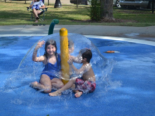 ANI Rec2U Splash pad bubble