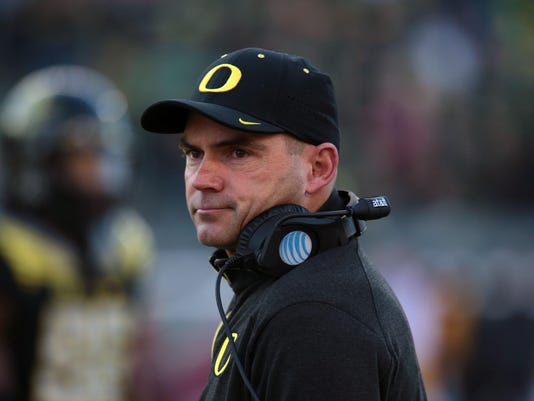 NCAA Football: Southern California at Oregon