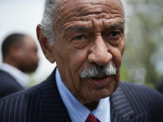 "Rep.Conyers Holds News Conference On The ""End Racial Profiling Act"""