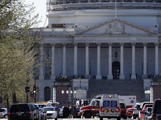 Capitol Gunfire