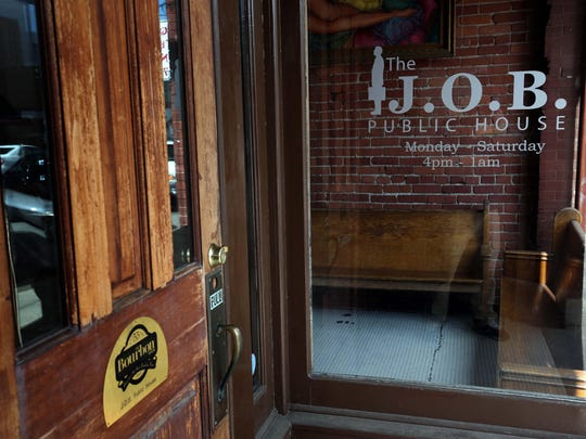 J.O.B. Public House at 319 E. Walnut St. has loaded cheese fries that really hit the spot when you're out late at night.