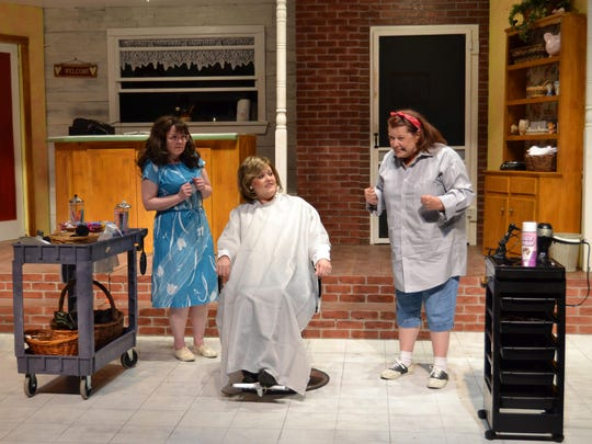 """Women in a small Louisiana town bond over gossip, love and loss down at the local beauty parlor when Theatre Tallahassee presents """"Steel Magnolias,"""" running through Jan. 28."""