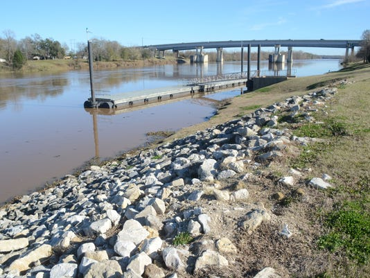 ANI Alexandria Projects A marina is one of the proposed projects on the Red River in Alexandria. Thursday, Jan. 8, 2015. -Melinda Martinez/mmartinez@thetowntalk.com
