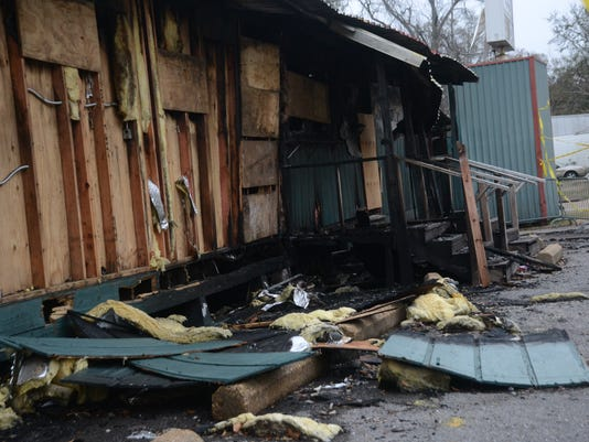 ANI Bringhurst Field On Saturday, Dec. 20, 2014, a fire destroyed the clubhouses and offices at Bringhurst Field. Tuesday, Jan. 13, 2015.-Melinda Martinez/mmartinez@thetowntalk.com