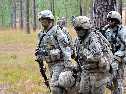 Warrior Battalion conducts live fire exercise