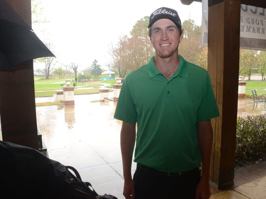Brent Marshall competed in the Adams Pro Golf Tour's Coke/Dr. Pepper Walmart Open Saturday.