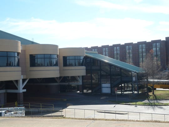 Convention business at the downtown Alexandria Riverfront Center is expected to greatly increase once the connecting downtown hotels are fully up and running.