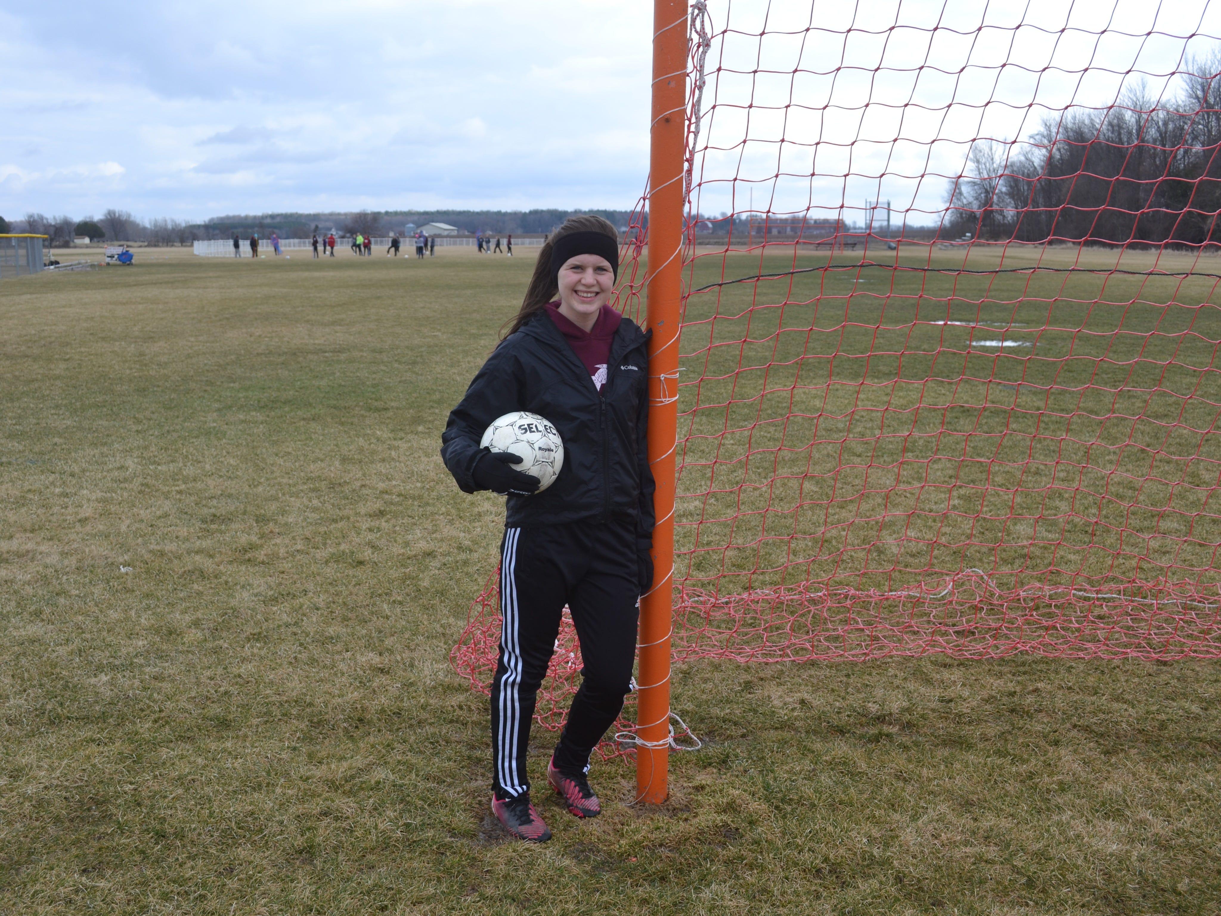 Karissa Preston poses for a Prep Profile picture.