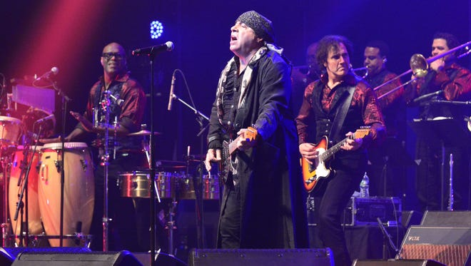 Little Steven And The Disciples Of Soul played the Count Basie Theater in Red Bank on Saturday May 27, 2017.