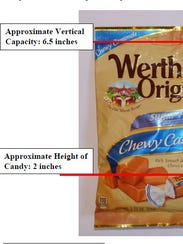 A federal lawsuit accuses the makers of Werther's Original