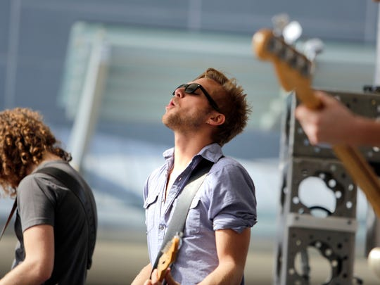 The Lately will be among the bands performing on five stages Saturday as part of Octoberfest in Appleton.