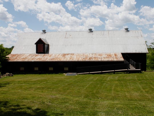 Barn 8 at Hermitage Farm will become a farm-to-table