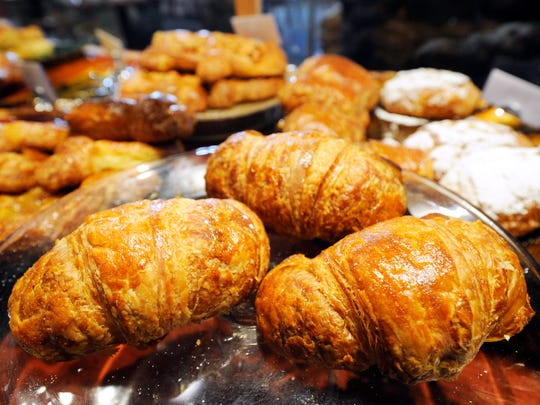 Croissants from the Copper Crust in Central Market.