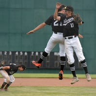 Brother Rice stuns Northville 9-2, moves on to baseball semifinals.