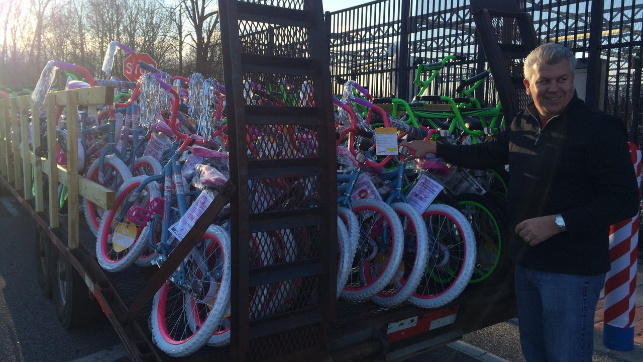 FACEBOOK LIVE - Pop's Dream, bikes for kids