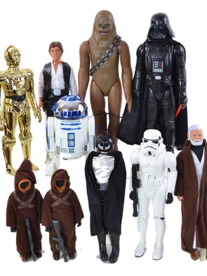 Star Wars collectibles, especially older figures, are in demand right now, making it a good time to sell your collection.
