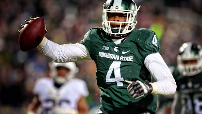 Spartans defensive lineman Malik McDowell