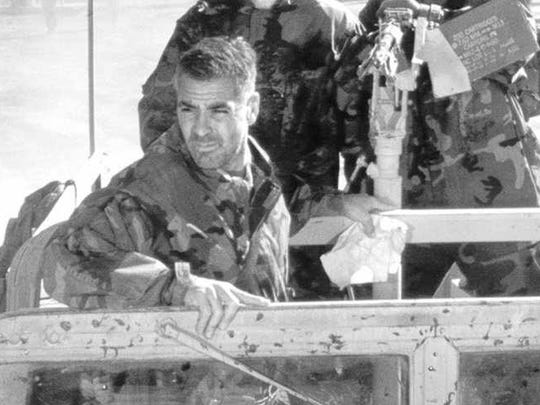 """In 1999's """"Three Kings,"""" George Clooney plays soldier Archie Gates."""
