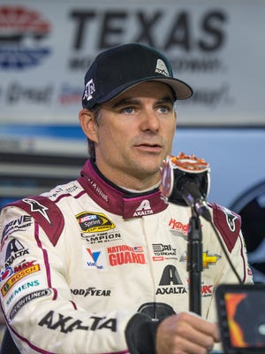 """Jeff Gordon said of third-round races at Martinsville, Texas and Phoenix, """"This is where we're going to shine. """""""
