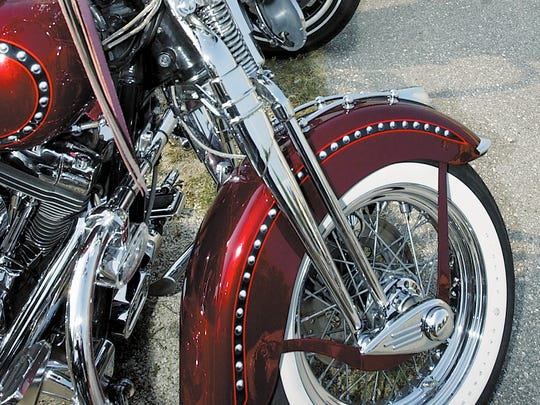 Harley-Davidsons in Manitowoc County.