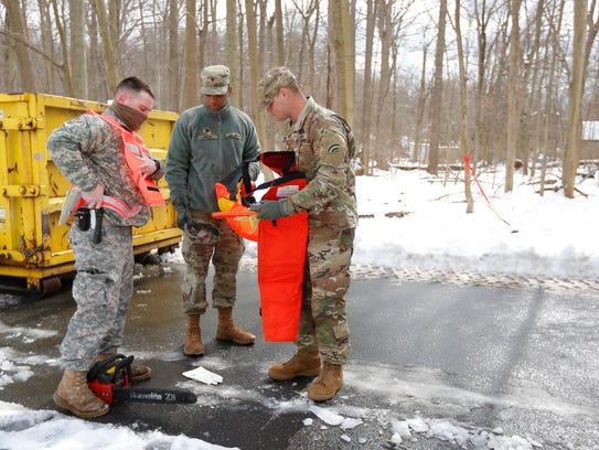 Army National Guardsmen from the 42nd Infantry Division,