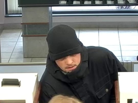 Police are seeking the public's help identifying the man who robbed a Genoa Twp bank Jan. 11, 2018.