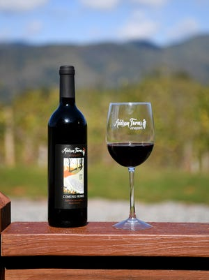 Addison Farm Vineyards make their wine from grapes grown locally on their farm in Leicester without dangerous additives.