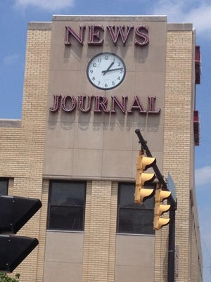 The News Journal building, 70 W. Fourth St., Mansfield.