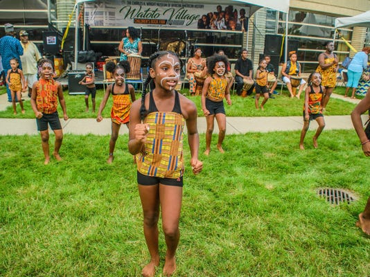 African World Festival At Wright Museum