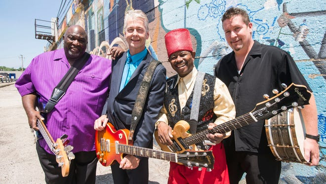 Lil' Ed and the Blues Imperials perform at the Grand Opera House as part of the Alligator Blues Fest March 3-4, 2017.