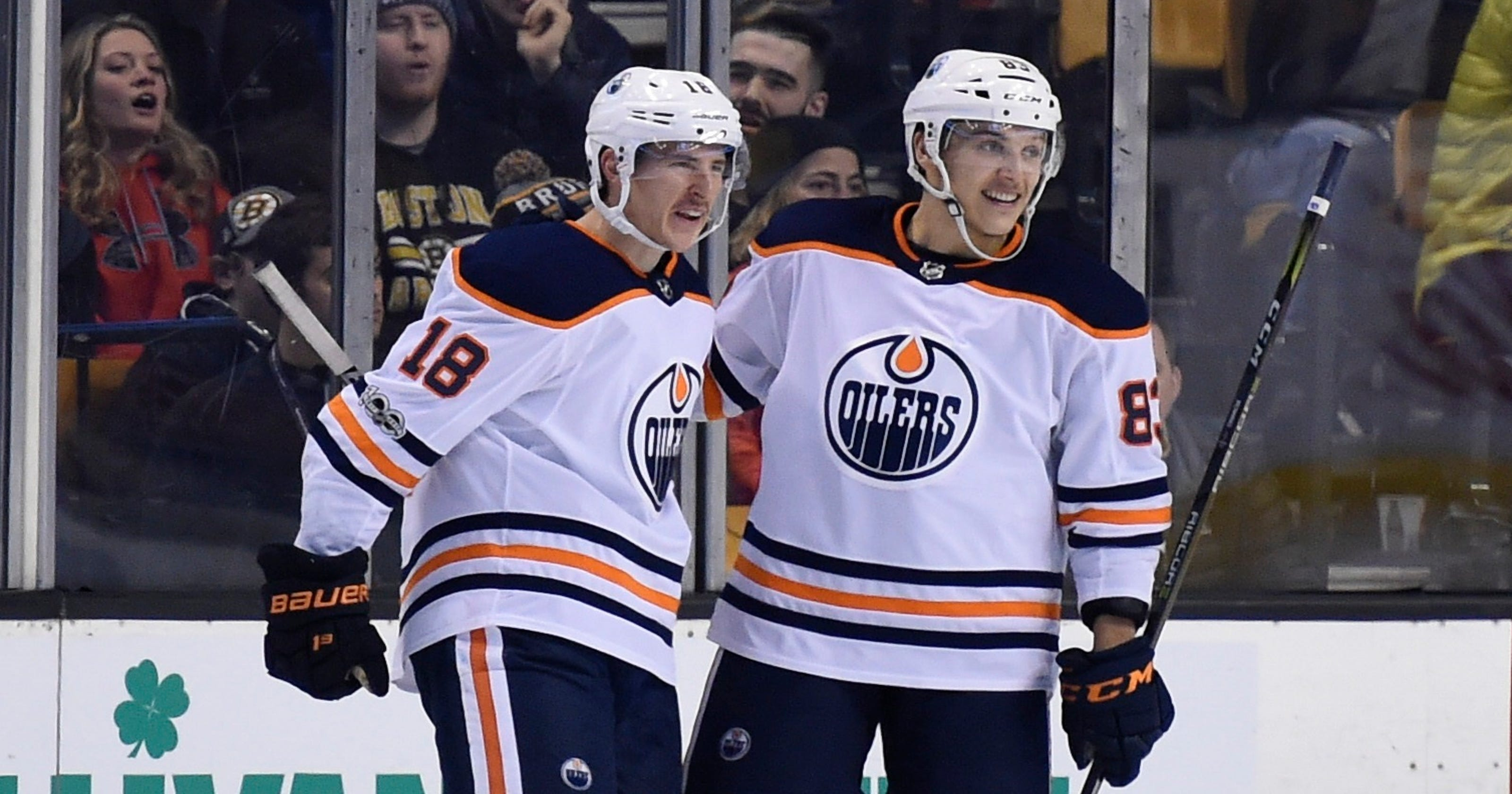cab90827cad Struggling Oilers finish trip with win over Bruins
