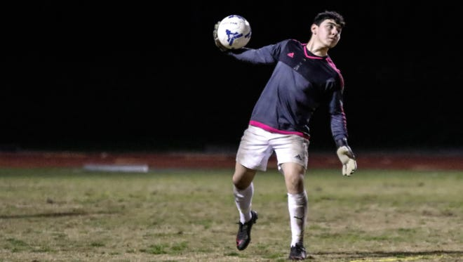 Golden West's Ramon Zarco is the 2017 Times-Delta/Advance-Register All-Tulare County Boys Soccer Player of the Year.