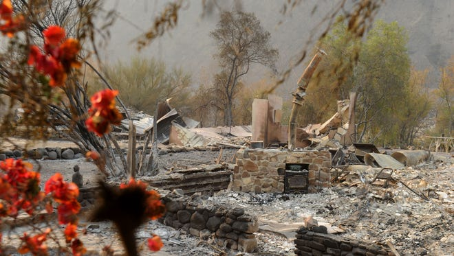 The Thomas Fire burned more than 700 homes in Ventura and unincorporated areas of Ventura County, leaving mounds of debris.