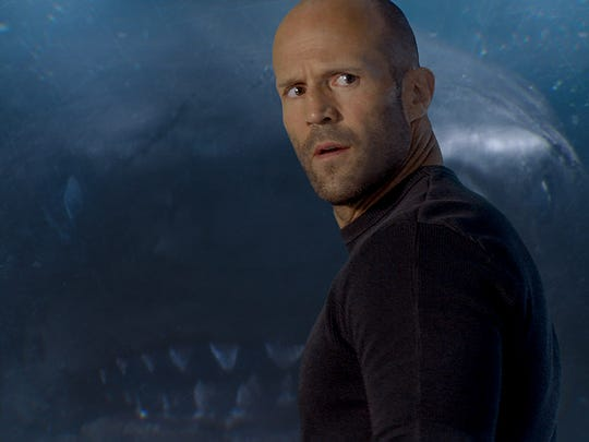 Jason Statham: 'The Meg' star deals with real sharks, dirty