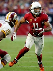 Arizona Cardinals wide receiver Larry Fitzgerald (11).