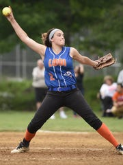 Bryanna Bigica has been strong for No. 5 Lodi, entering Wednesday 15-6 with a 1.51 ERA.
