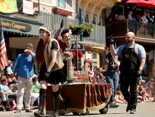 Viking Fest  Parade in Poulsbo on Saturday, May 20,