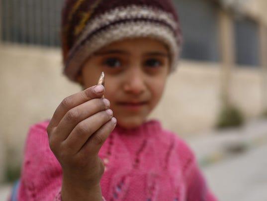 EPA SYRIA DOUMA SCHOOLS CHILDREN WAR SCHOOLS ARMED CONFLICT SYR
