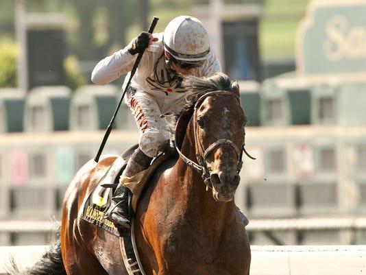 Santa Anita Horse Racing (2)